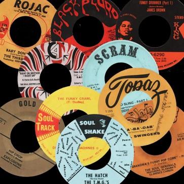 Deep Funk Rarities - Label Stickers Pack 1