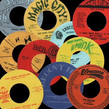 Deep Funk Rarities - Label Stickers Pack 2