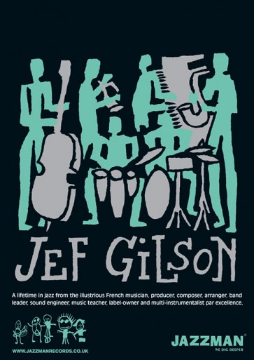 Jef Gilson - Poster