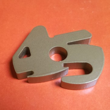 Stainless Steel 45 Adaptor Gold