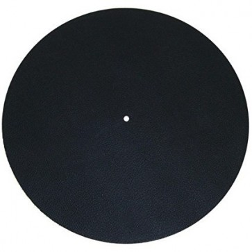 Leather Audiophile Turntable Mat