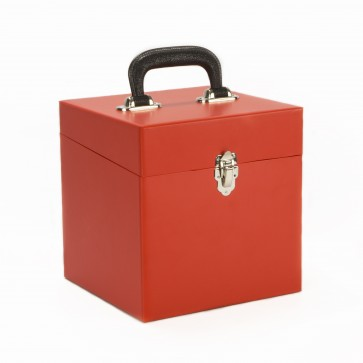 NEW Small All Red 45 Record Box