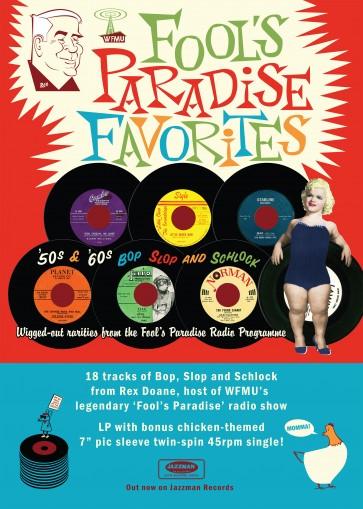 WFMU Fools Paradise Favorites with REX