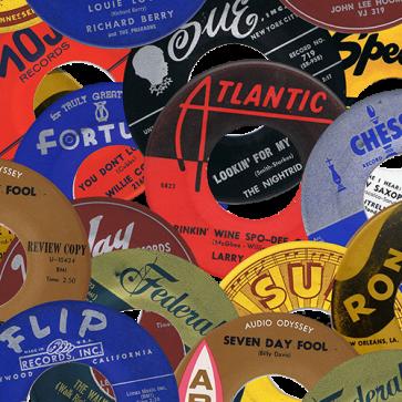 RnB Classics & Rarities - Label Stickers Pack 2