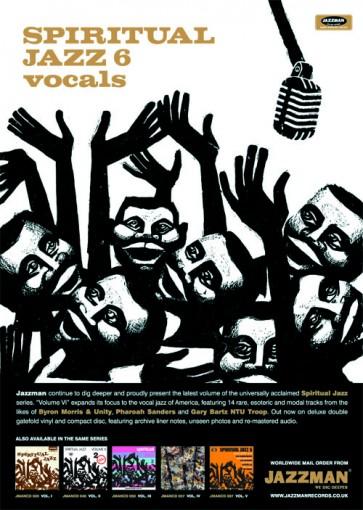 Spiritual Jazz 6 - Vocals - Poster