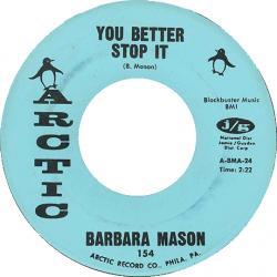 Northern Soul Classics & Rarities - Label Sticker - Barbara Mason