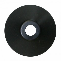 Plastic Cone Shape Record Centre Adaptor Black