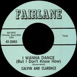 I Wanna Dance (But I Don't Know How)