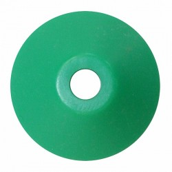 Plastic Cone Shape Record Centre Adaptor Green