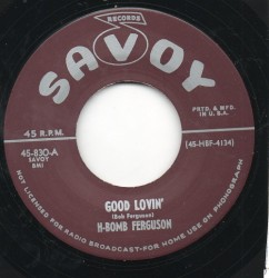 Bookies Blues / Good Lovin'