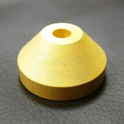 SOLID BRASS 45rpm Centre Adaptor HEAVYWEIGHT Brass