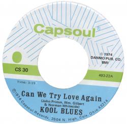 Northern Soul Classics & Rarities - Label Sticker - Kool Blues