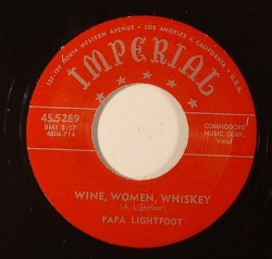 Wine, Women, Whiskey