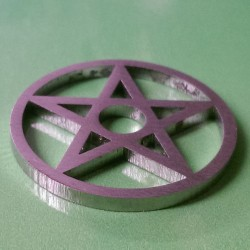 Stainless Steel Adaptor Pentagram