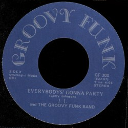 Deep Funk Rarities - Label Sticker - JJ and the Groovy Funk Band