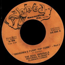 Deep Funk Rarities - Label Sticker - The Soul Generals
