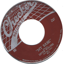 RnB Classics & Rarities - Label Sticker - Little Walter