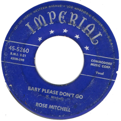 RnB Classics & Rarities - Label Sticker - Rose Mitchell
