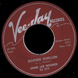 RnB Classics & Rarities - Label Sticker - John Lee Hooker