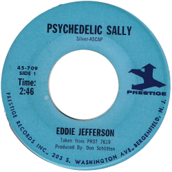 RnB Classics & Rarities - Label Sticker - Eddie Jefferson