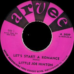 RnB Classics & Rarities - Label Sticker - Little Joe Hinton
