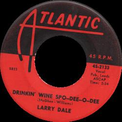 RnB Classics & Rarities - Label Sticker - Larry Dale