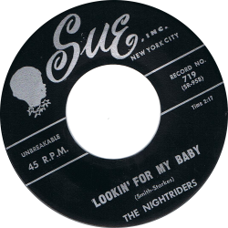 RnB Classics & Rarities - Label Sticker - The Nightriders
