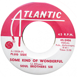 Northern Soul Classics & Rarities - Label Sticker - Soul Brothers Six