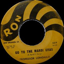 RnB Classics & Rarities - Label Sticker - Professor Longhair