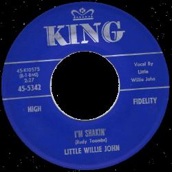RnB Classics & Rarities - Label Sticker - Little Willie John
